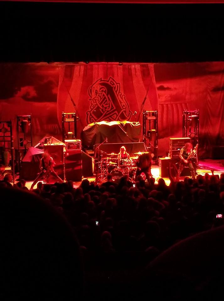 Amon Amarth! Great show!