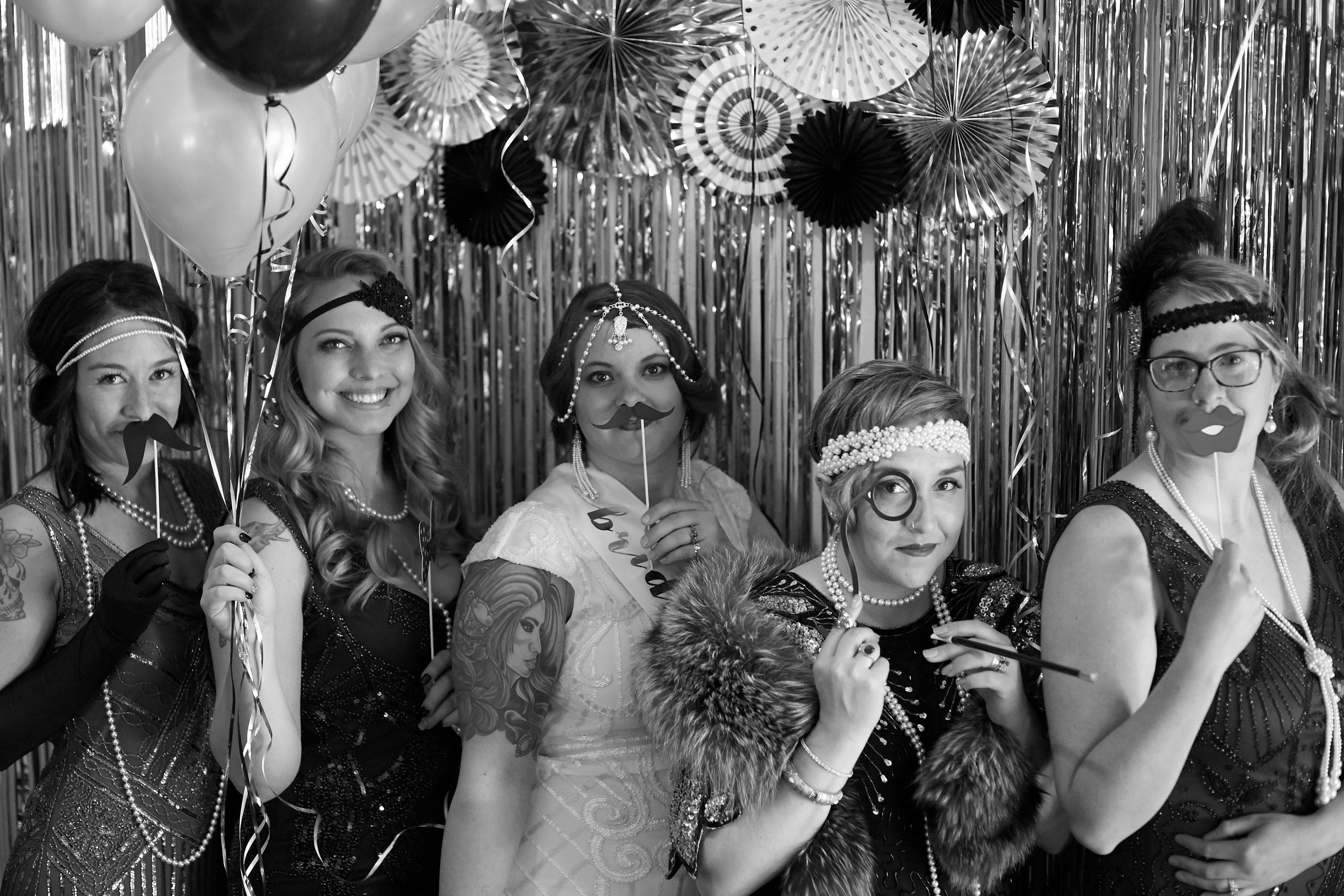 My Bridal Party. Aren't these girls gorgeous!