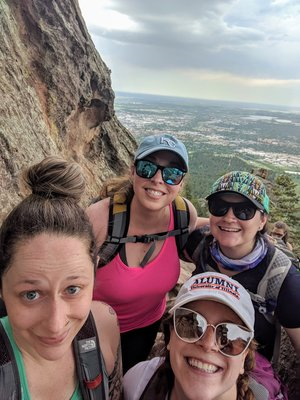 WE MADE IT TO THE TOP! Royal Arch, Boulder, CO