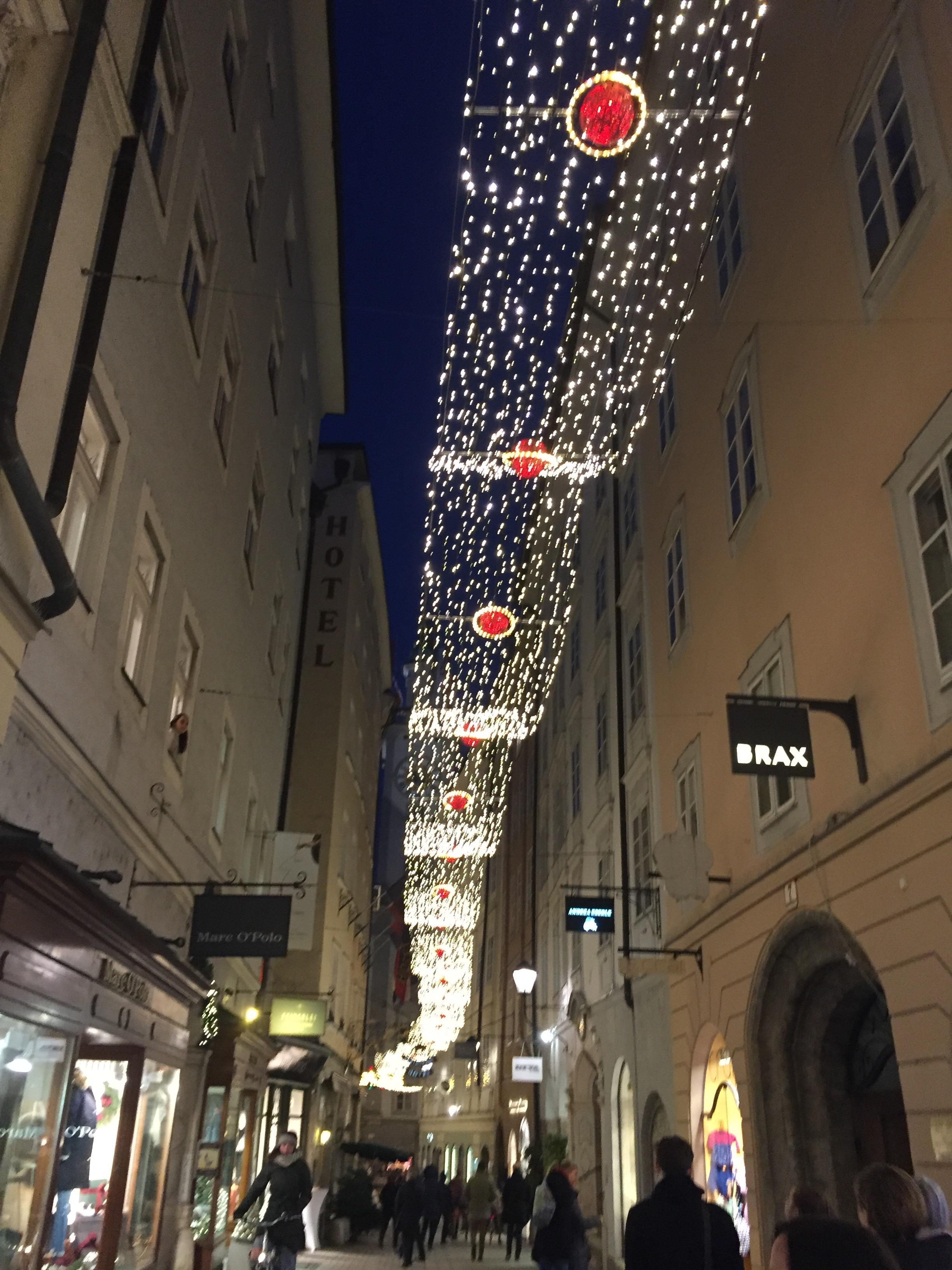 The Christkindlmarkets in Salzburg, Austria are breath-taking - November 2017