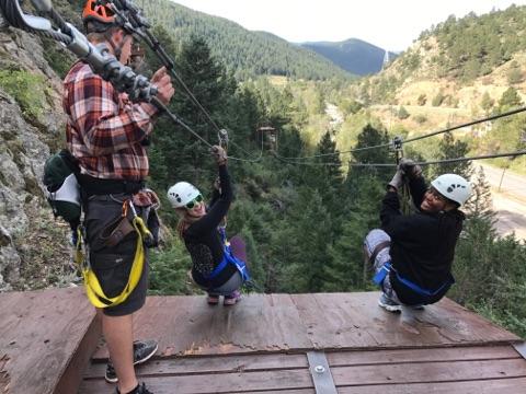 Ziplining through the Rockies with my Ride-Or-Die - September 2017