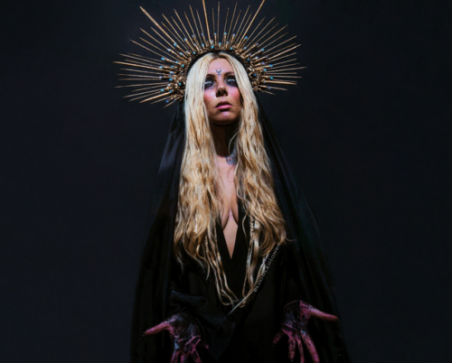 Maria Brink, lead singer of In This Moment.