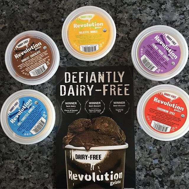 The ciiiiiiircle of liiiiiife. (lol) Be on the lookout for our shelf talkers to become part of the pride 📸: @dulcevegan  #revolutiongelato #dulcevegan #youcanhaveitall #revgelato