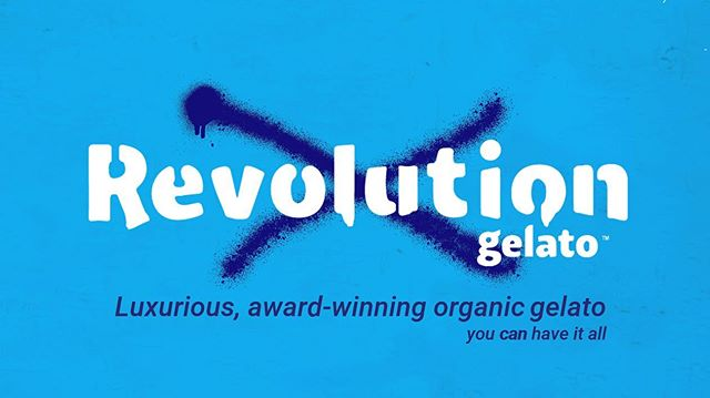 Look for our logo today at @tasteofatlanta! We're gonna be the most poppin tent out here all weekend! Stop by, get a scoop, snap a pic, and chat with us for a bit! We love our customers!! #revolutiongelato #tasteofatlanta #revgelato #youcanhaveitall