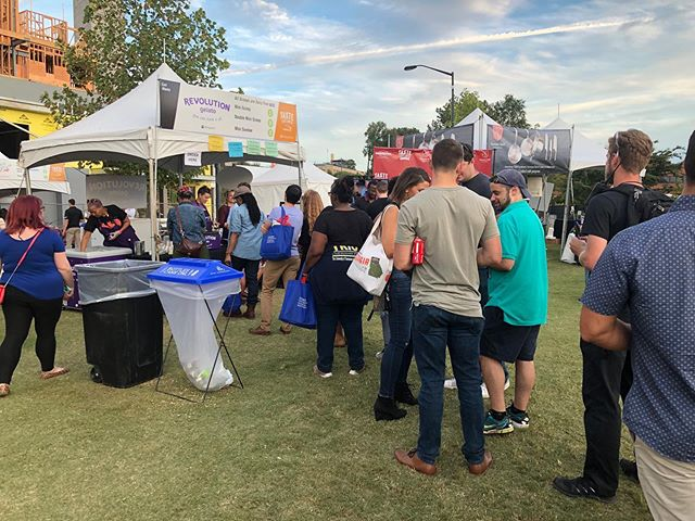 A big thank you to everyone who stopped by our tent! We appreciate your support and love the opportunity to share our gelato with you 😊🙌 #tasteofatlanta #revolutiongelato #revgelato #youcanhaveitall
