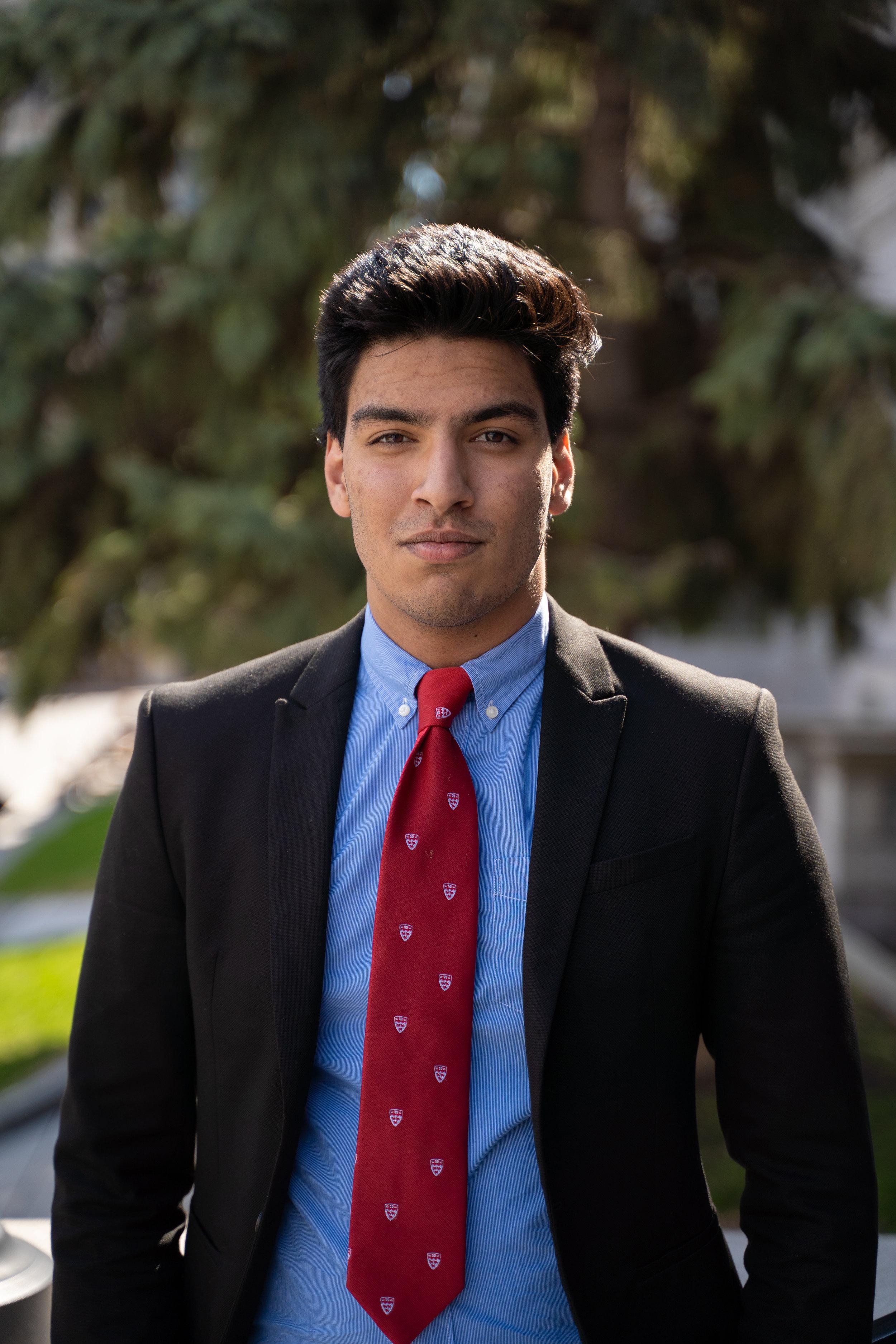 Omar Nazir - Vice Chair