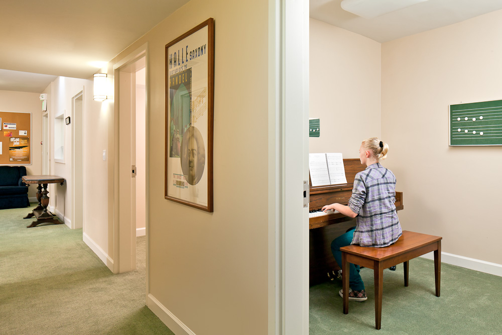 PRACTICE ROOMS -