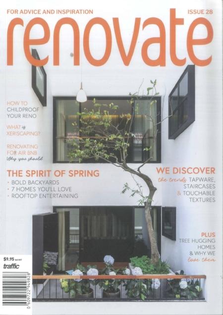RENOVATE ISSUE 28 - features ˆTEKAPO HOUSE' 2018