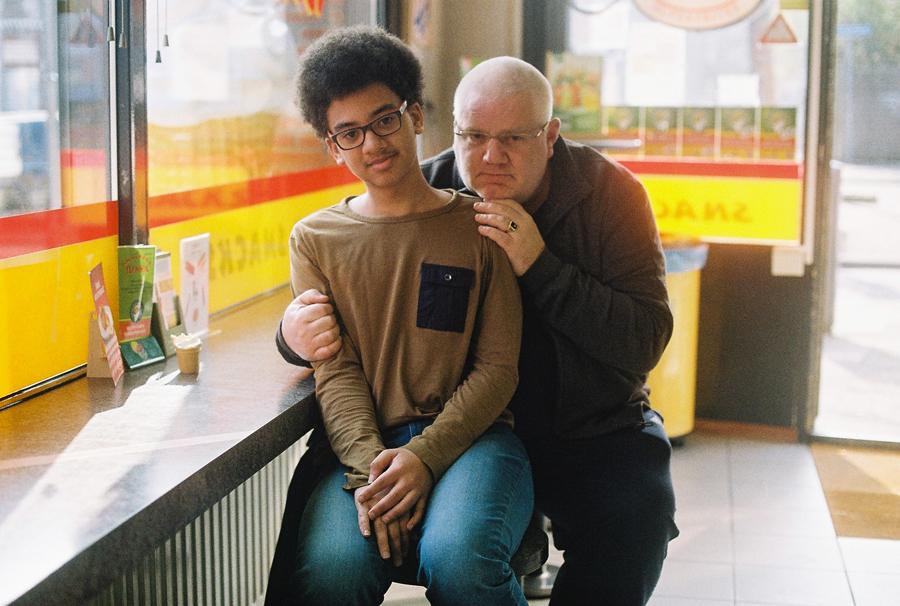 Klaas and Stefanio at the Snackbar Binkie