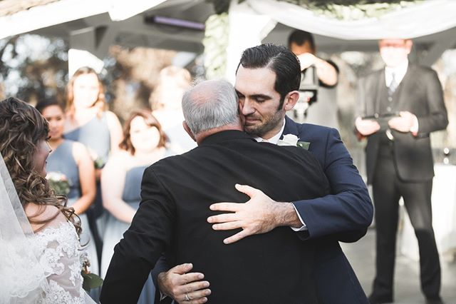Emotional moment between the groom and the father of bride...awww... . . . . . . #weddingstyle #weddingmoments  #weddingsph #weddingshoot #bridetobe2019 #theknotrings #bride2019 #bridetobe2020 #losangelesphotography #orangecountywedding #theknotnbeyond #theknotrealweddings #orangecountyweddings #losangelesbride #theknotbride #theknotla