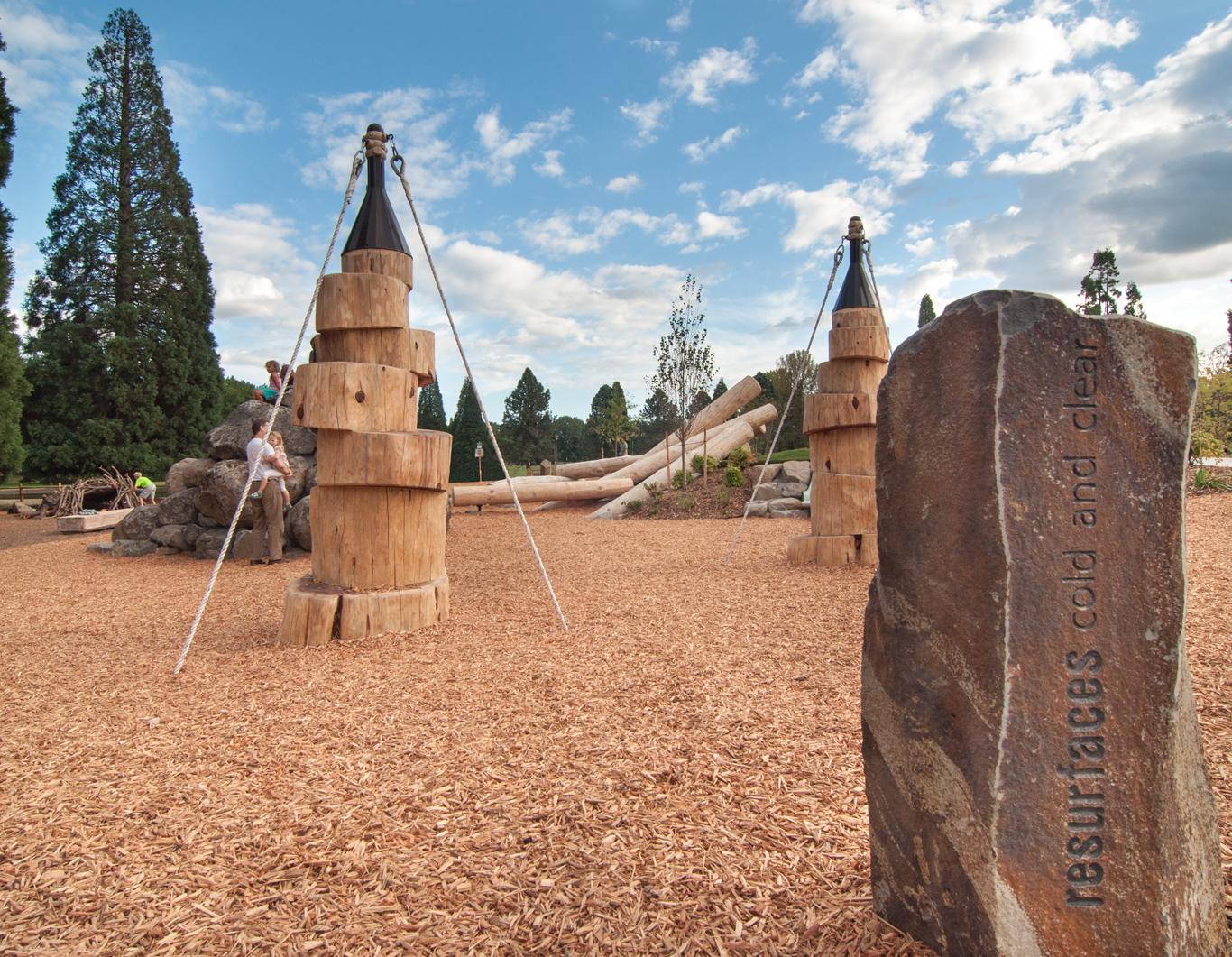 Westmoreland nature-based play area