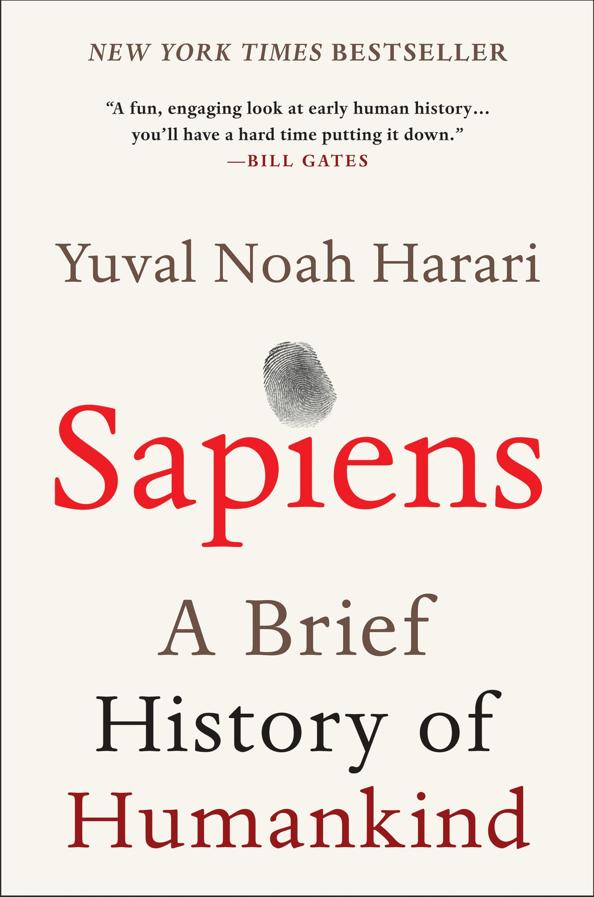 "Sapiens - by Yuval Noah Harari""Sapiens provides some much-needed insight into our behavioral patterns across a variety of social and landscape scales. It's easy to read and intuitively understood, but also peppered with interesting facts from recent discoveries and changing scientific consensuses.""- Nadja Quiroz, Landscape Designer""With approachability, precision, and a wry sense of humor, Yuval Harari places modern humans in the context of our complete collective history and in doing so, calls into question almost every human ""truth"" we've ever clung to. As Harari states it, ""We study history not to know the future but to widen our horizons, to understand that our present situation is neither natural nor inevitable, and that we consequently have many more possibilities before us than we imagine.""- Judith Edwards, Marketing Manager"