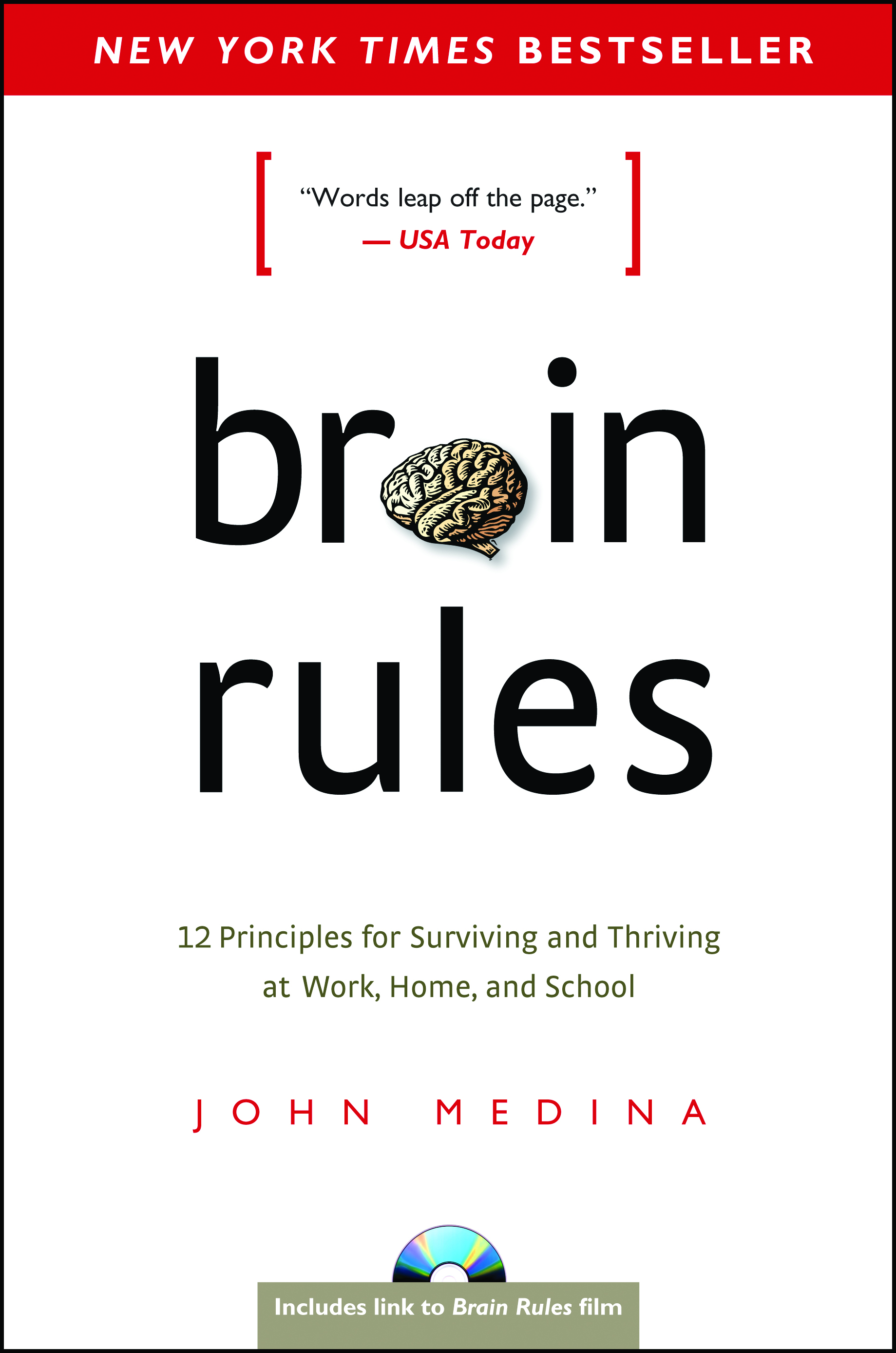 "Brain Rules - by John Medina""This book details 12 ""brain principles"" useful for everyday life and work. By showcasing the inner-workings of our brains and helping people outside of the neuroscience fields to better understand their brains; the book helps individuals capture how we can work with – not against – our minds by better understanding them. Intersecting topics/principles cover memory sleep, memory, and gender differences.""- Wes Shoger, Landscape Architect"