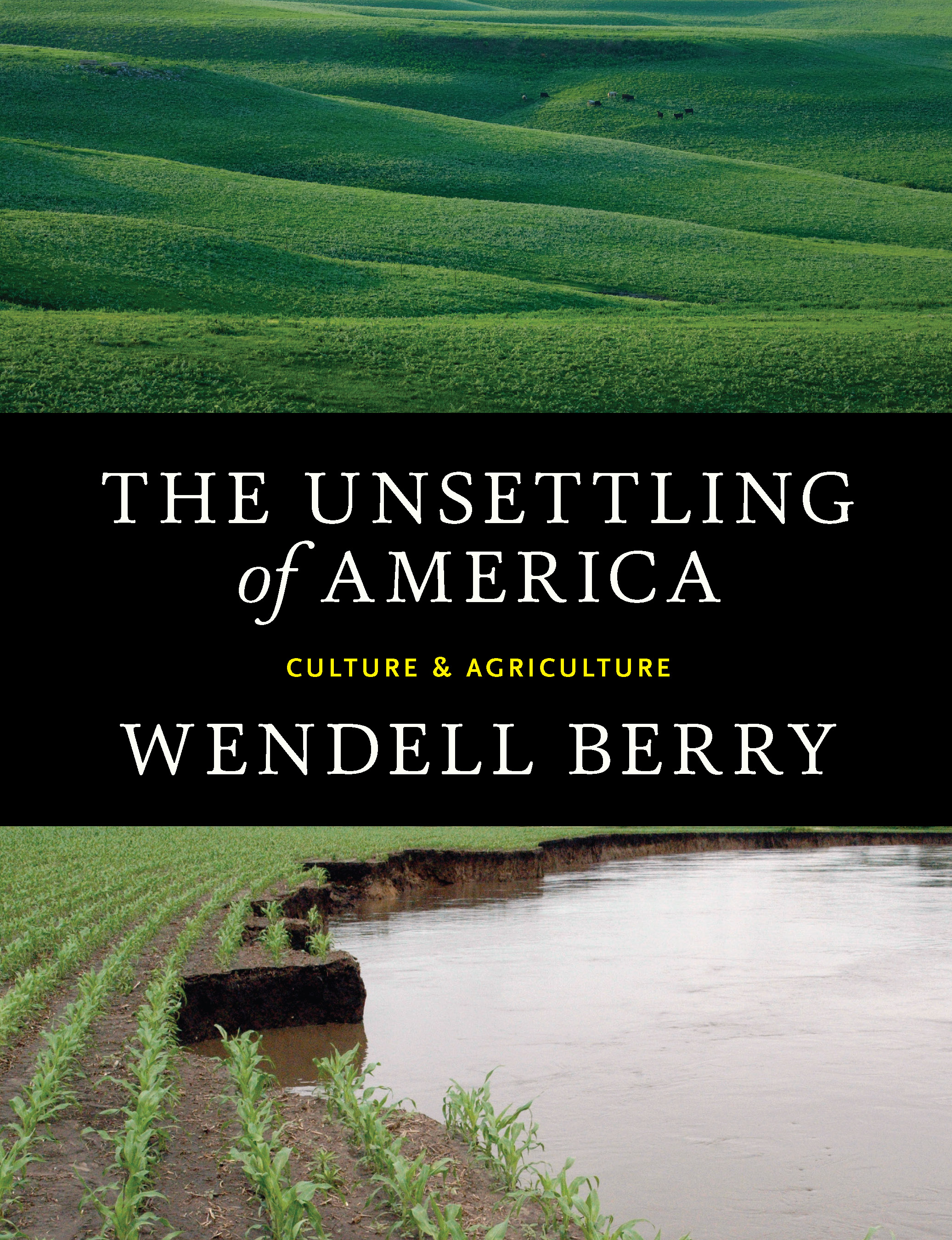 "The Unsettling of America - by Wendell Berry""A look into Culture and Agriculture. How Agri-business takes farming out of its cultural context and away from families, distancing current populations from an understanding and appreciation of the land.""- Jim Figurski, Senior Associate, Landscape Architect"