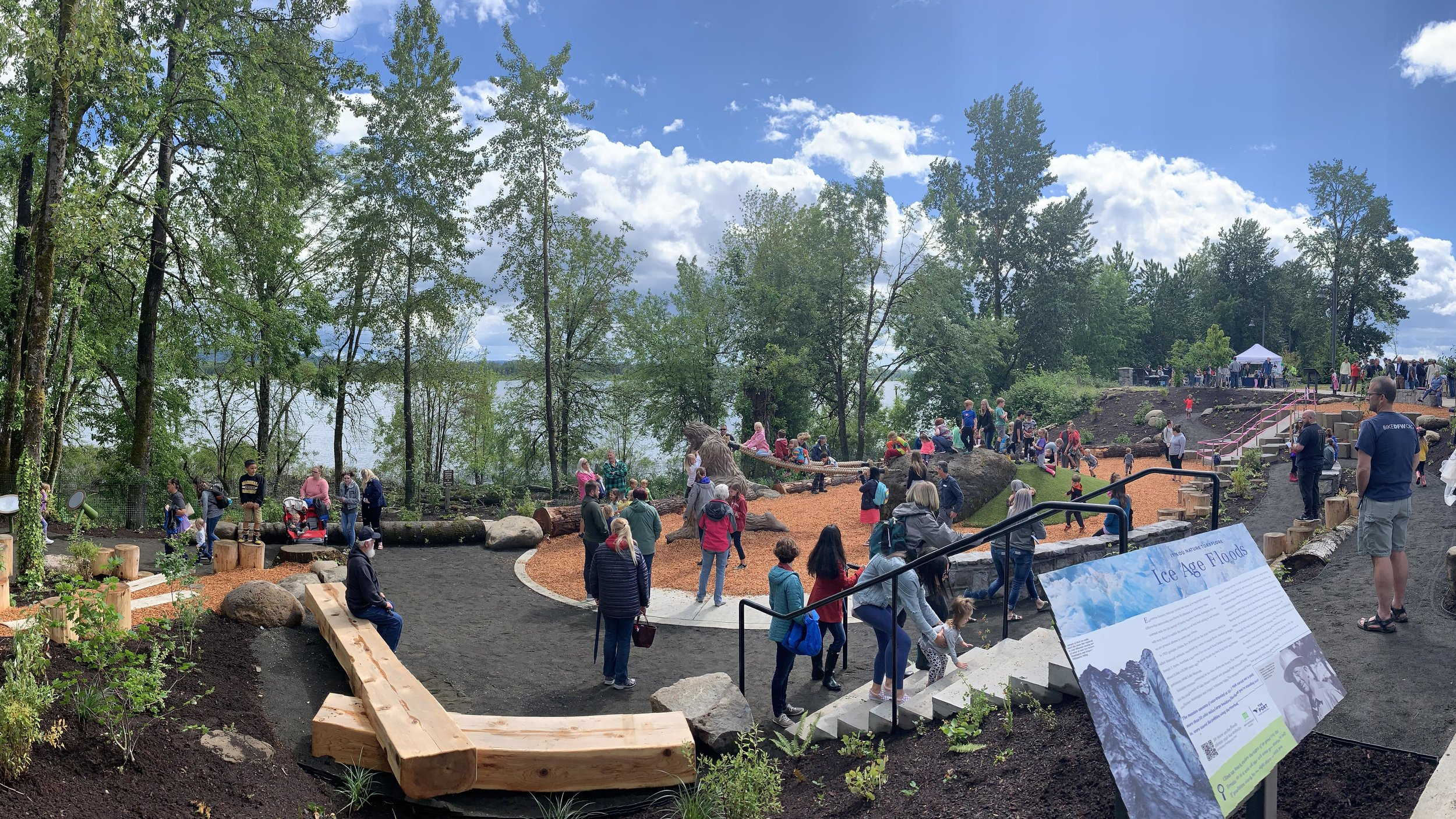 The grand opening of Washougal Waterfront Park in June