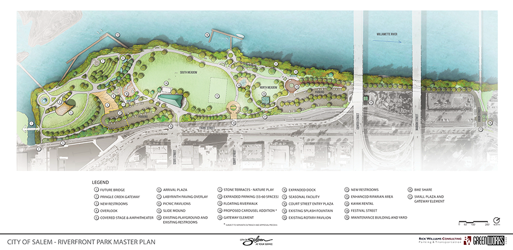 Salem Riverfront Park Master Plan
