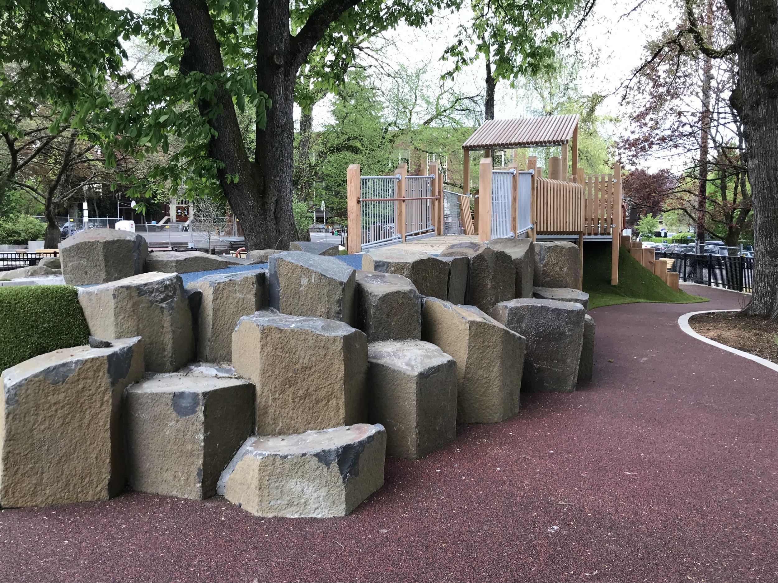 Couch Park Basalt Columns