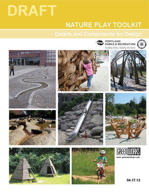 play pamphlet from the city of portland with greenworks logo
