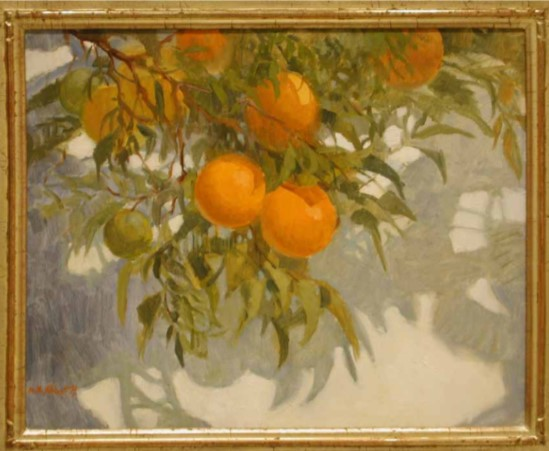 Shadows of Oranges - By Carole Avila1st Place in the 2016 Art Tales Writing Contest