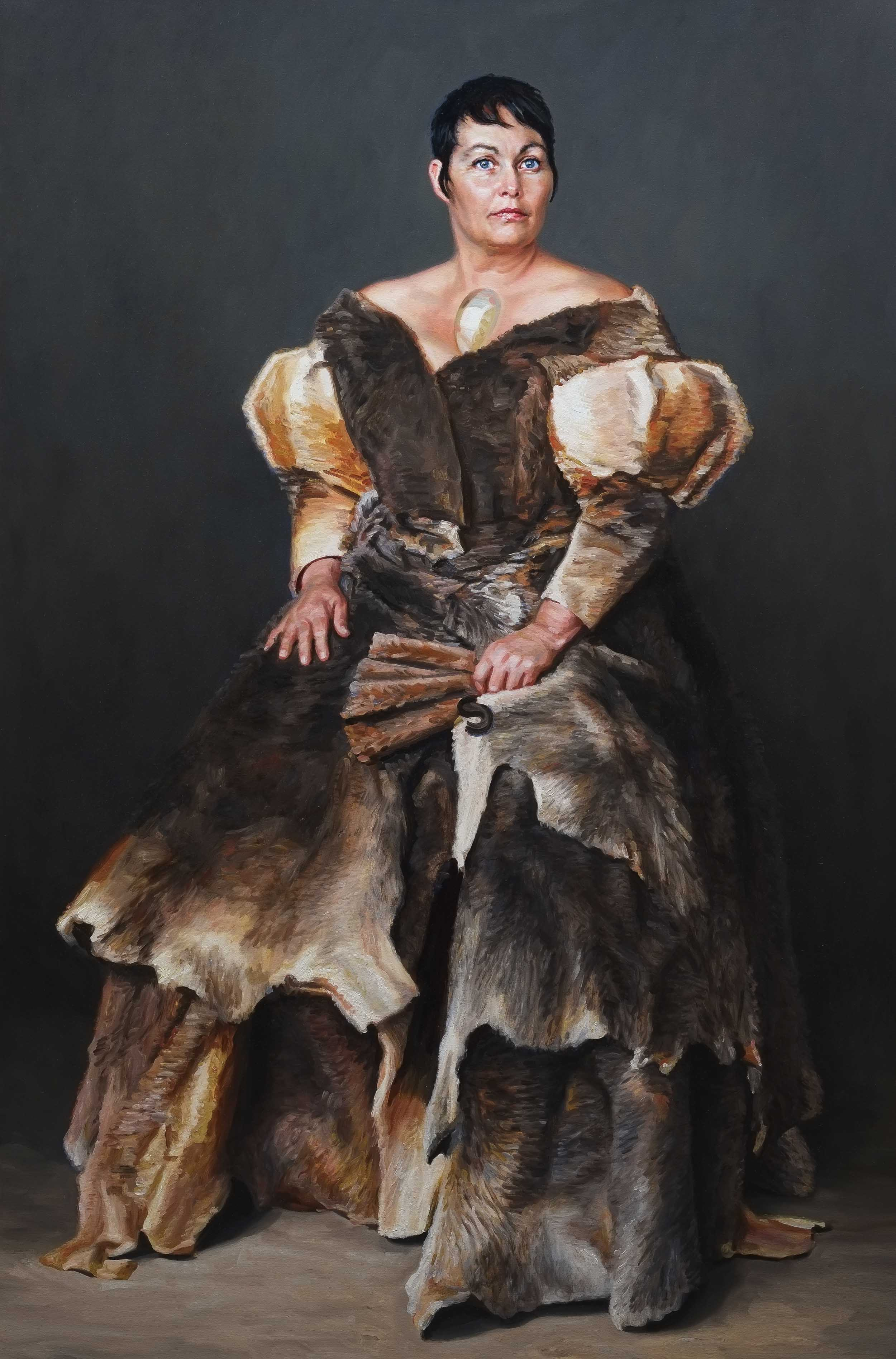 Heiress (portrait of Joan Ross) 2009