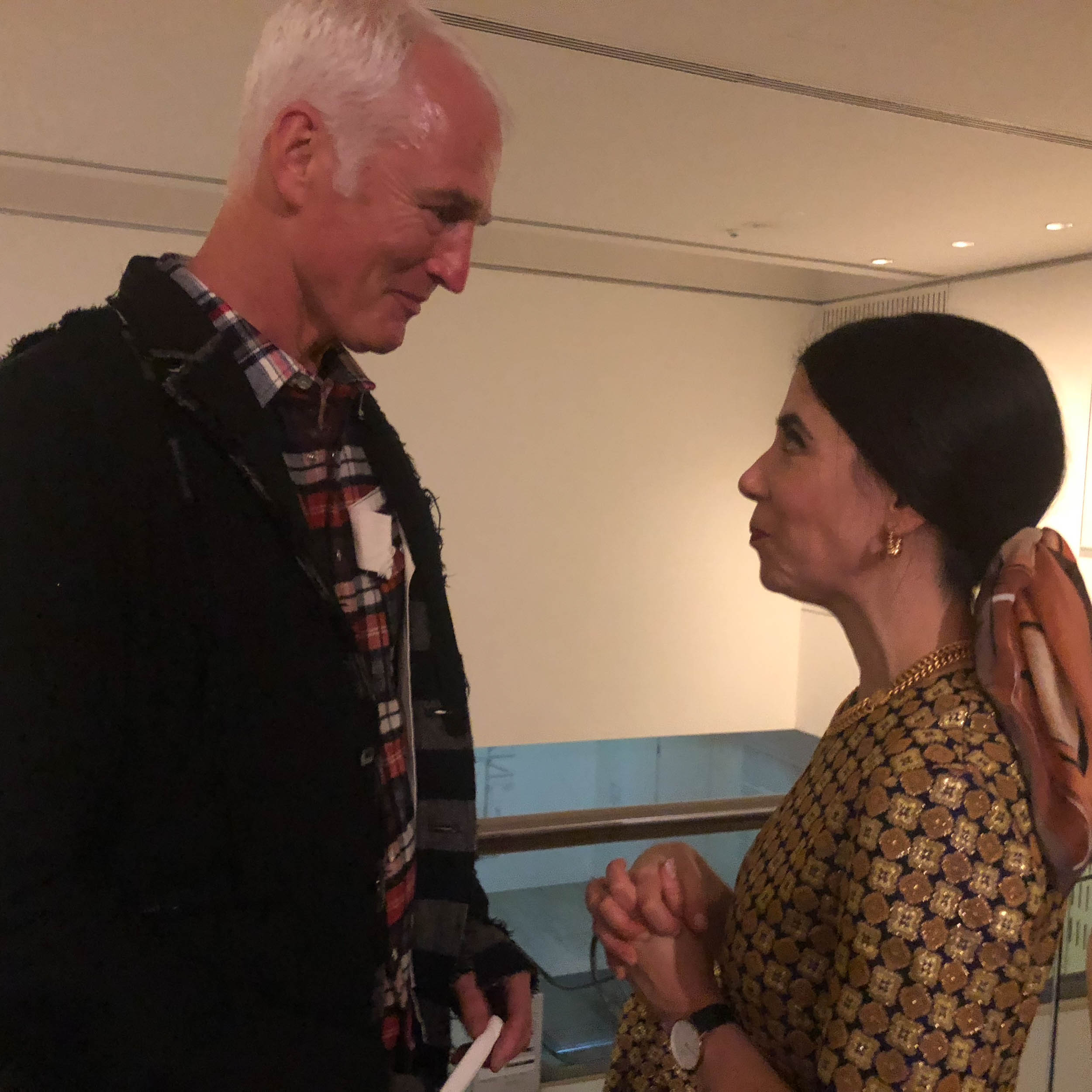 With Archibald Prize Winner Yvette Coppersmith