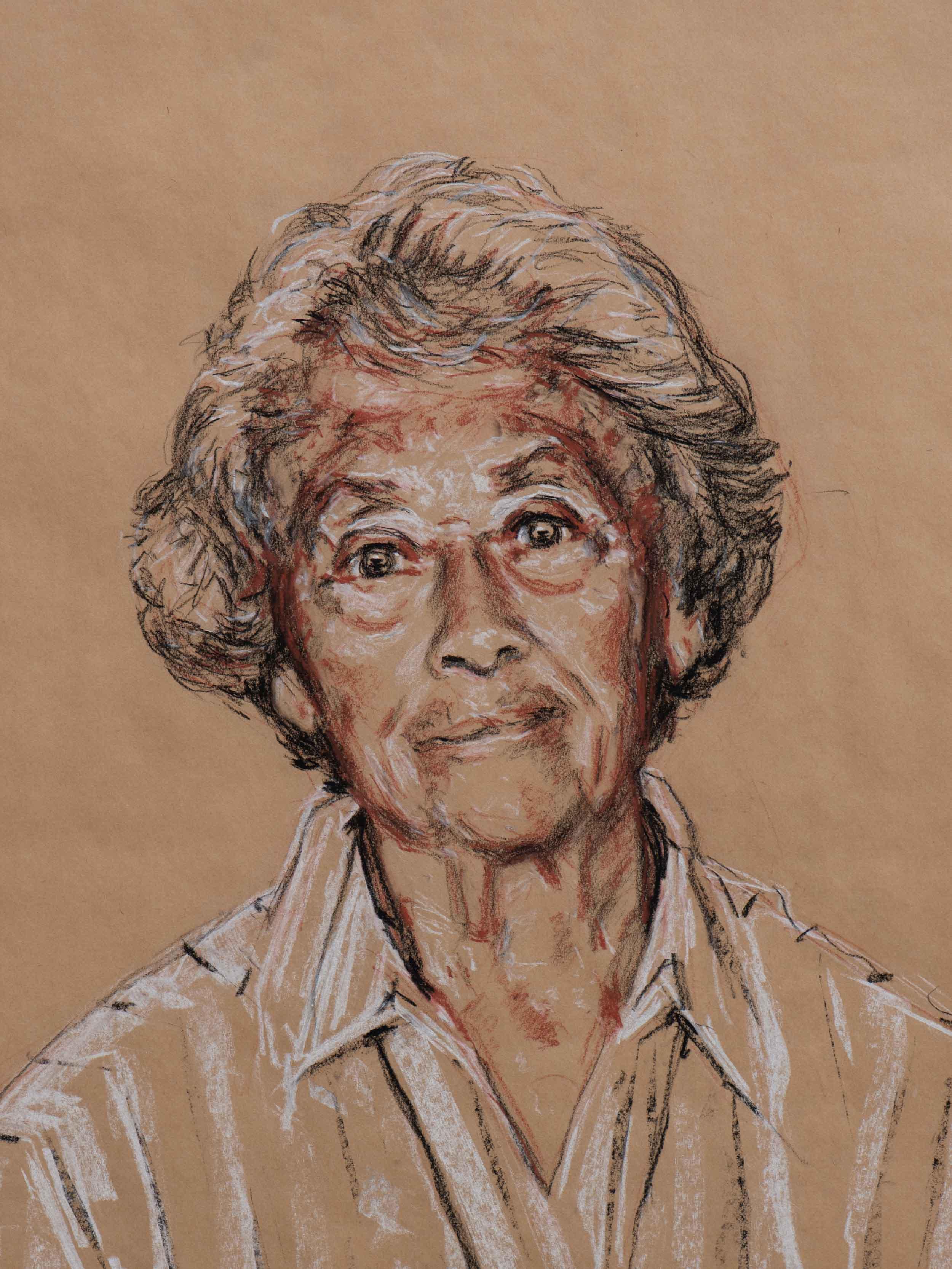 Aunty Mary King (study, 2010)