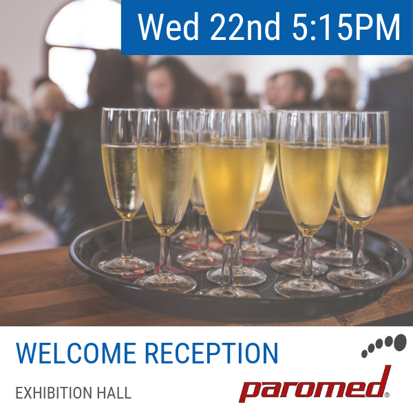Wednesday 22 May   The Welcome Reception is our kick off social function for the conference and is a great chance to catch up and network with colleagues old and new. The Welcome Reception will boast a selection of canapes and light supper style food options accompanied by a range of alcoholic and non-alcoholic drinks.  While the Welcome Reception is an included function, please indicate your intention to attend the Welcome Function during the registration process. If you have overlooked this during registration, you can return to the  registration portal here  to update your preferences. If you wish to bring a colleague, partner or friend to the welcome function, additional tickets can be pruchased during registration at a cost of $60