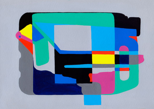 Great Bear,   2010 | Acrylic on paper, 297 x 210mm