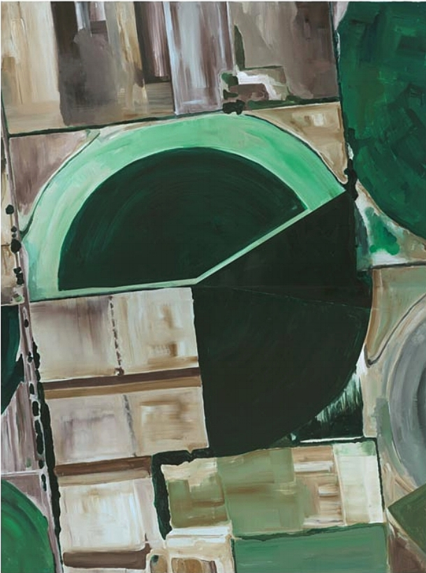 Detail  , 2008  |  Acrylic on canvas, 2440 x 1820mm
