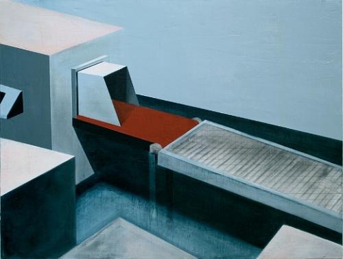 Generation Game  , 2007   Acrylic Medium canvas, 1160 x 860mm