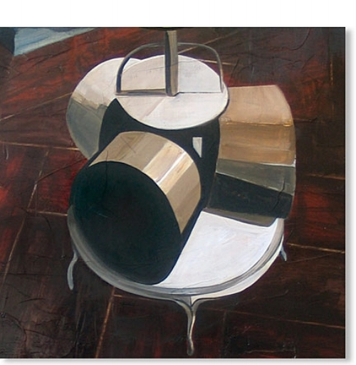 Sundae  , 2007   Acrylic medium on canvas, 600 x 600mm,  Private Collection