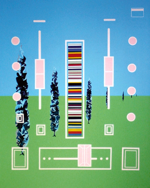 Numark   2004   Acrylic on canvas, 1524 x 1220mm