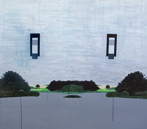Immemorial  , 2004   Acrylic on canvas, 1215 x 1360mm