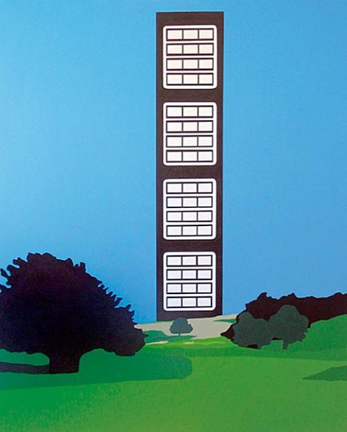 Homeland  , 2002   Acrylic on canvas, 1160 x 860mm