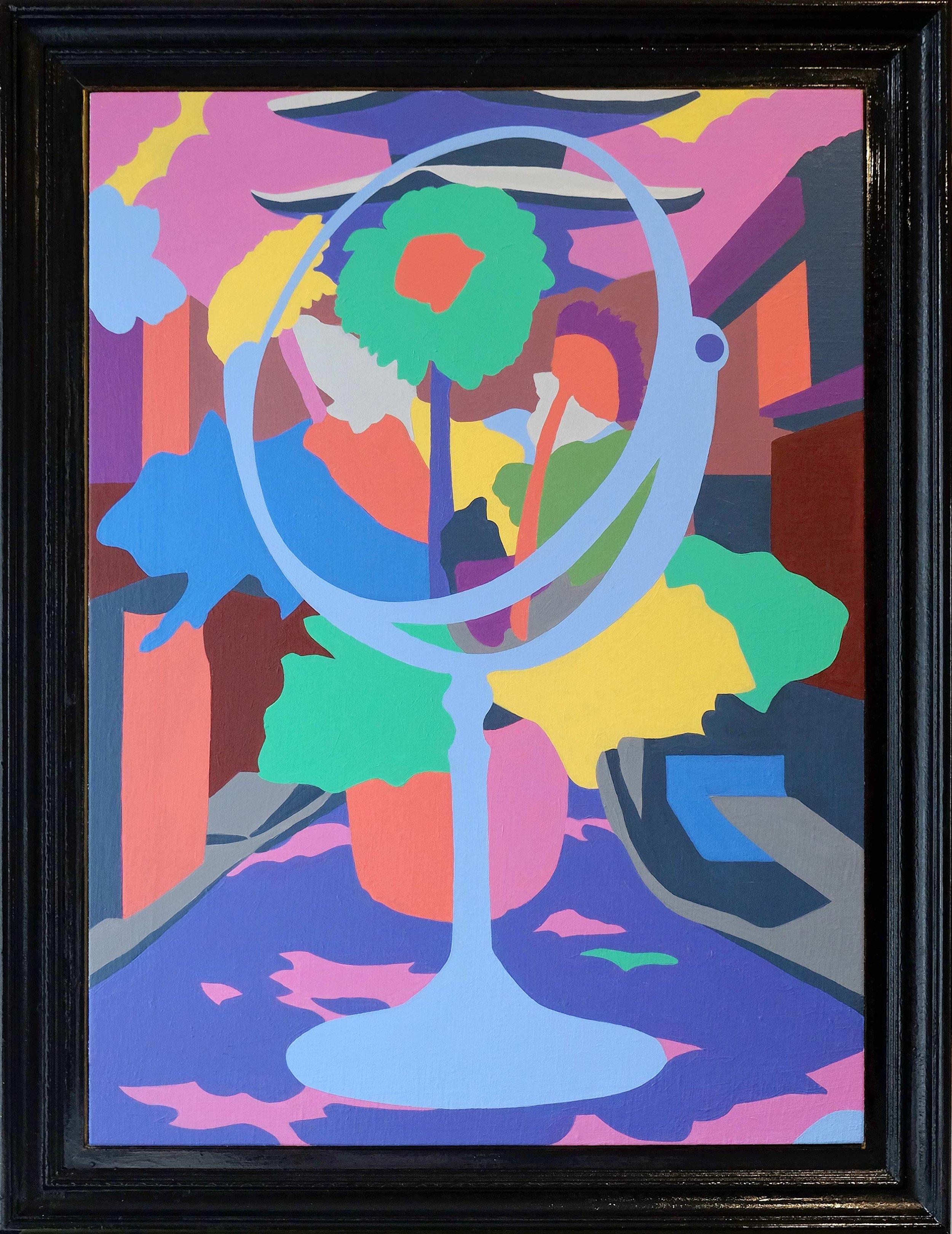 Indoor Outdoor Flow , 2019  |  Acrylic on canvas, 575 x 815mm