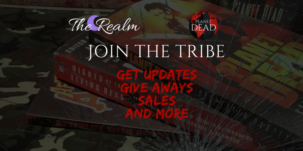 Join our mailing list for updates, sales, prizes, contest and so much more zombie fun. Click image for more info