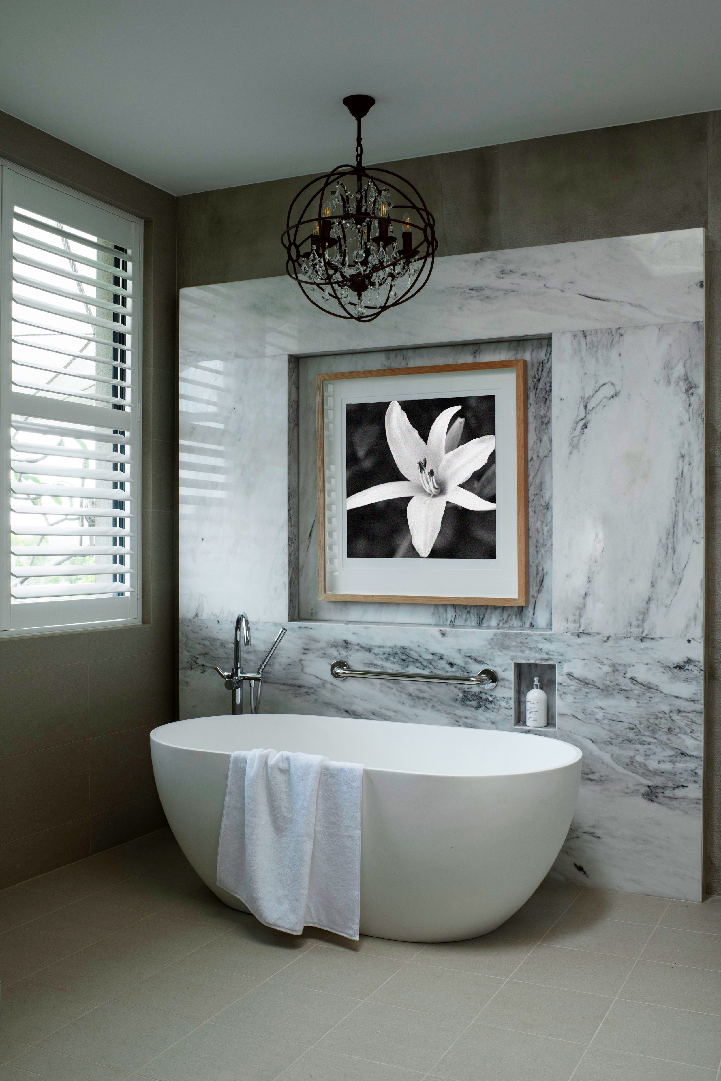 The finished bathroom run via an official project plan with deliverable dates.