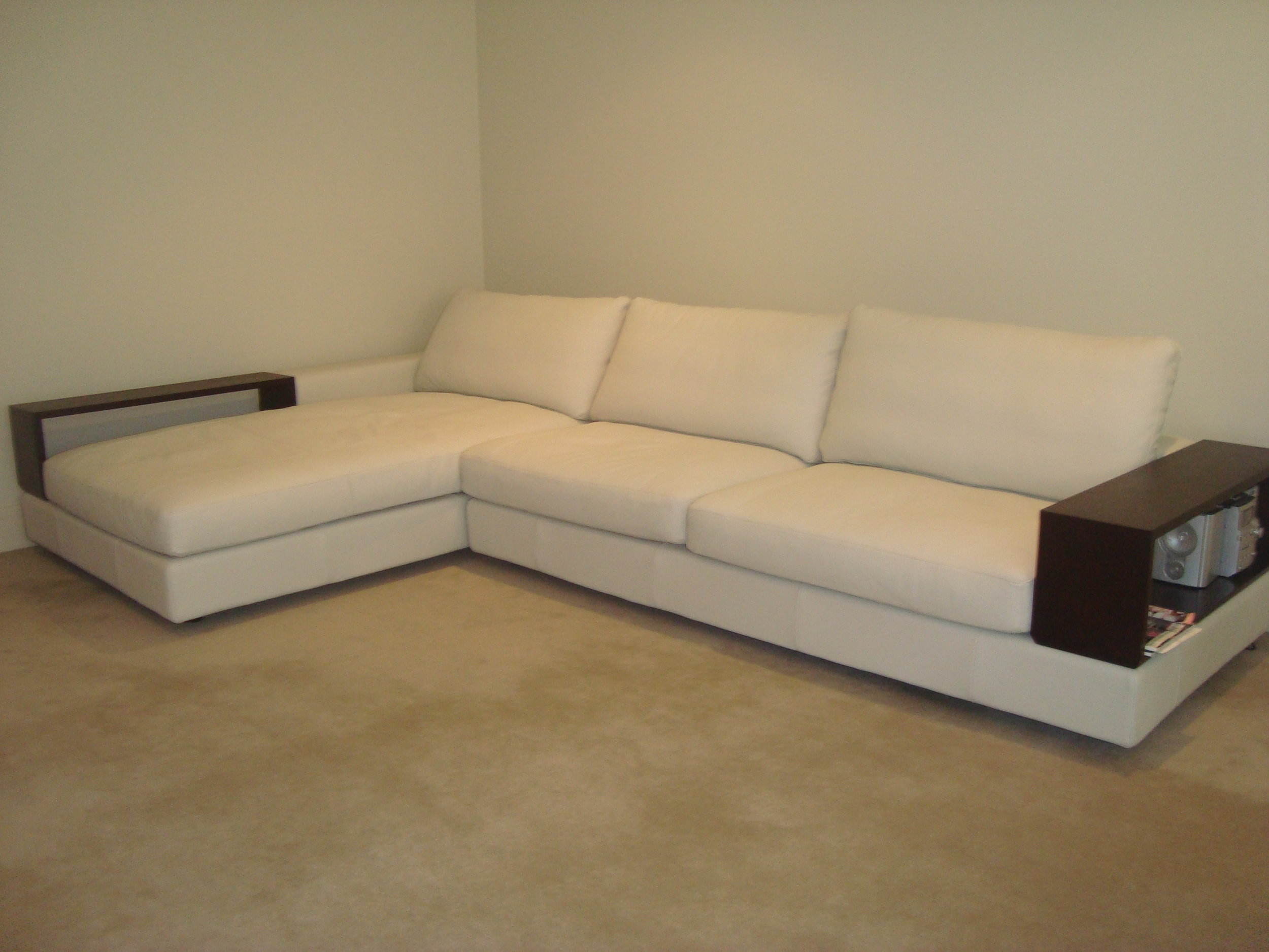 BEFORE. This piece from King living is a blank canvas.
