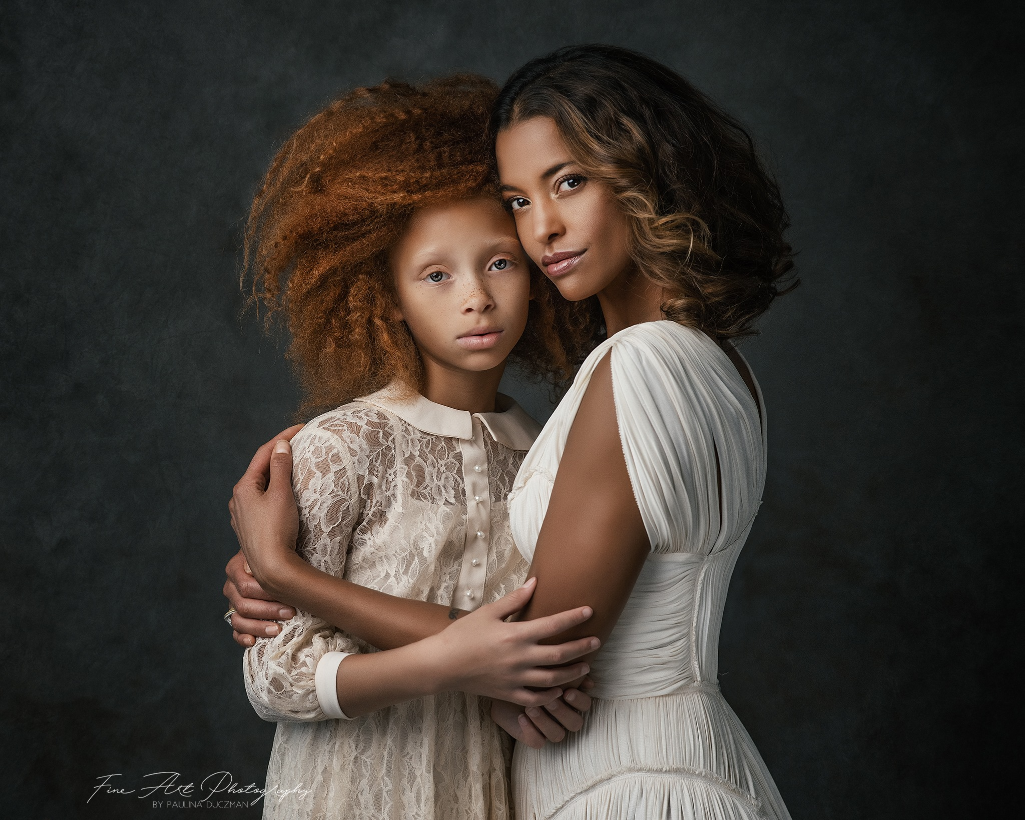 Incredible Vintage Portrait photography by Paulina Duczman.