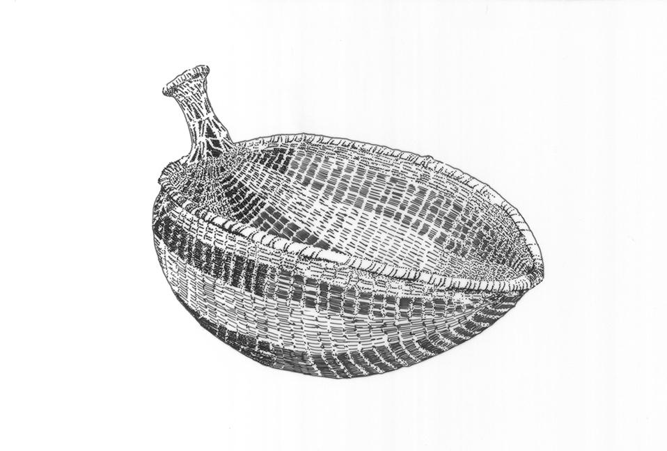 Seed beater basket