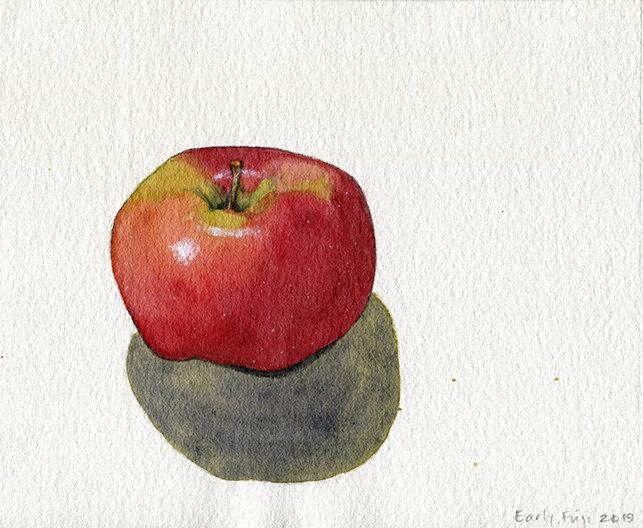 Early-season Fuji apple