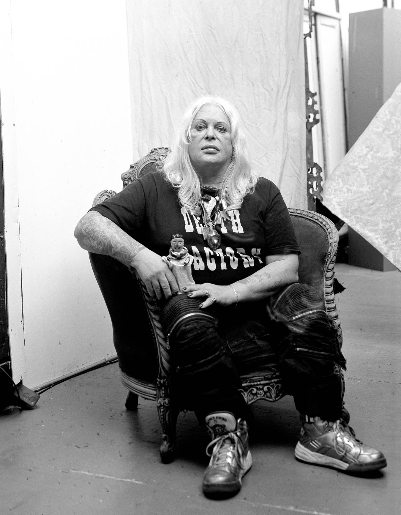 O'Malley_Genesis P-Orridge NYC 2017