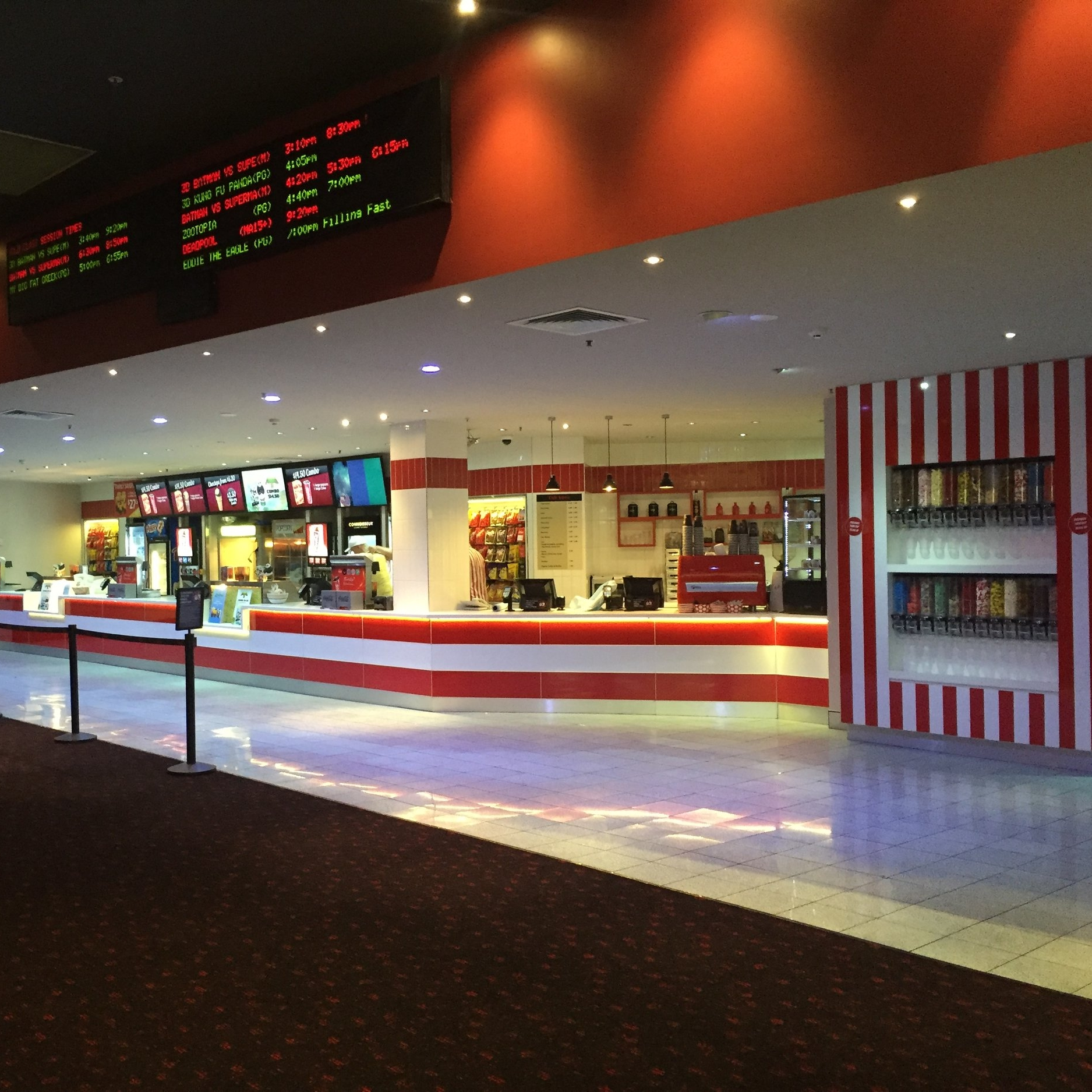 Australia FairEvent Cinemas - REFURBISHMENT