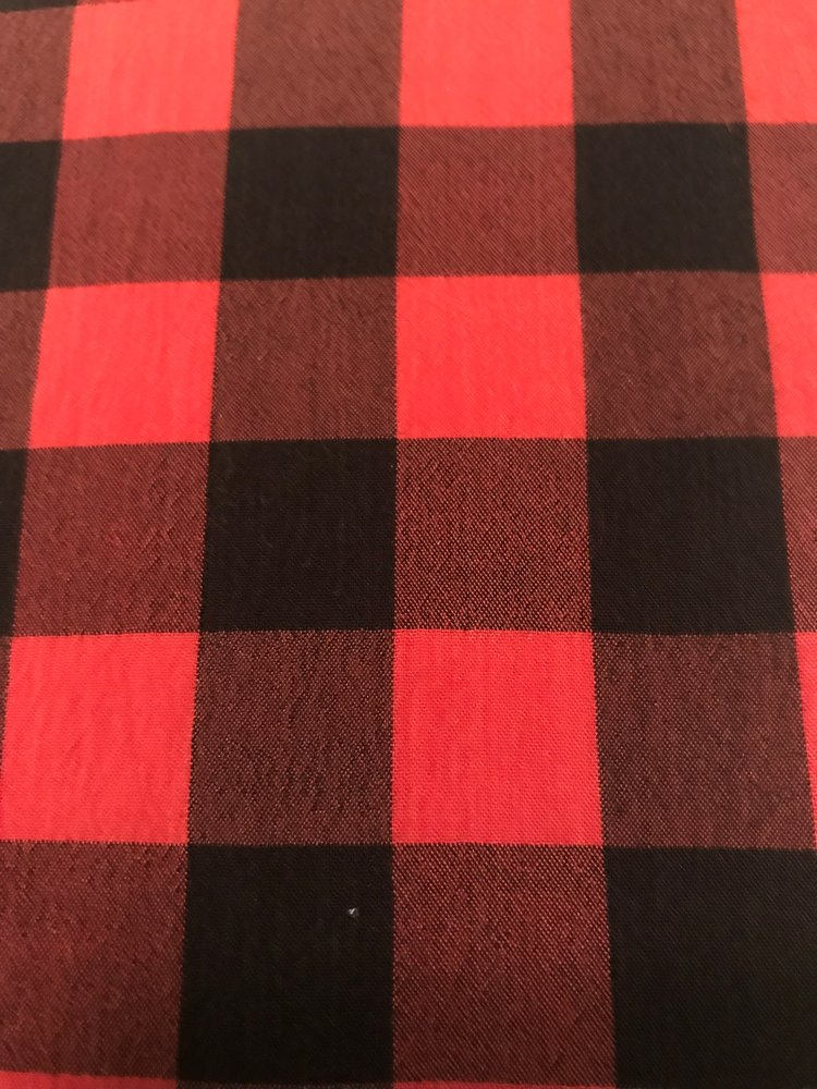 This may look like your ordinary cotton shirting material, but we promise you, it's anything but. Heck, there's no cotton in this fabric whatsoever.