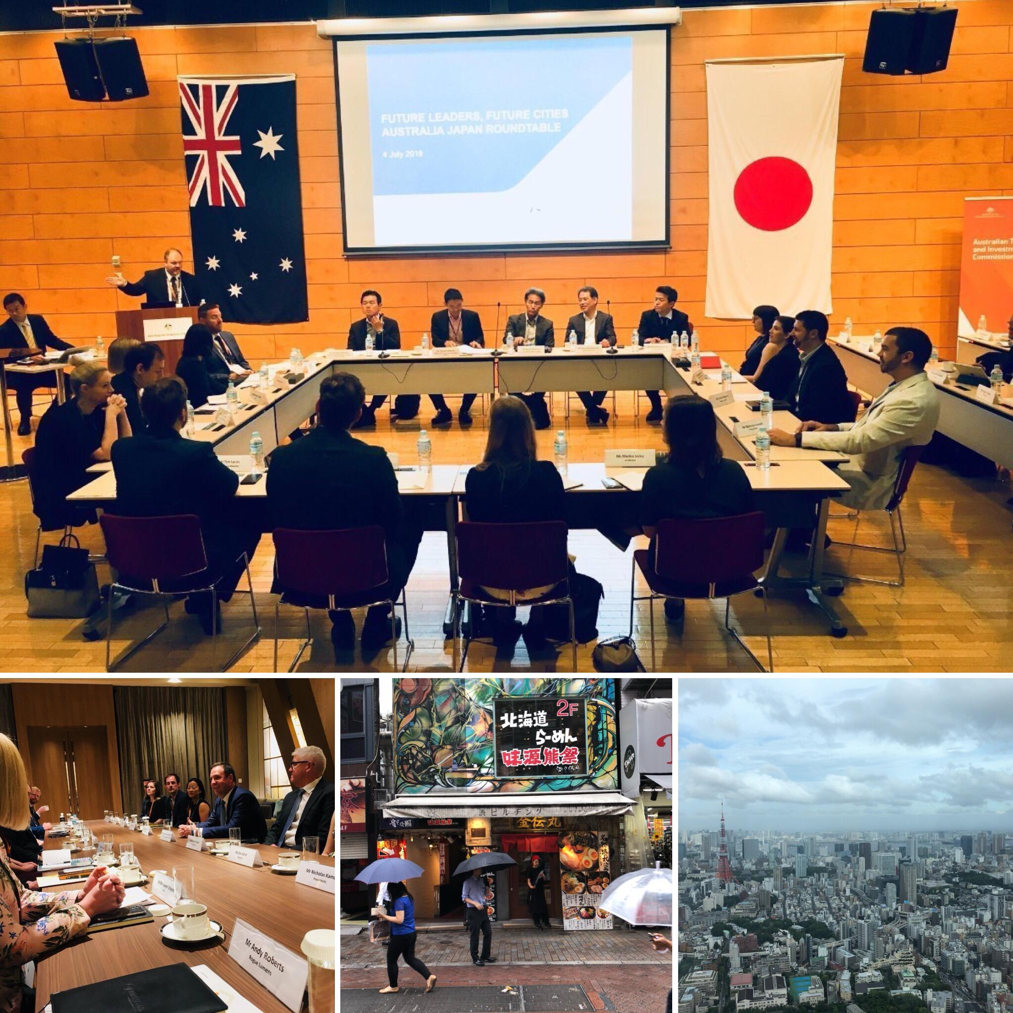 Future Leaders Future Cities - Tokyo - Dan Barr of the Better Cities Group was delighted to be invited to join the inaugural Future Leaders Future Cities delegation to Tokyo in July 2018. The delegation was led by the Honourable Steven Ciobo with a focus on fostering strong smart city relationships between Japan and Australia.