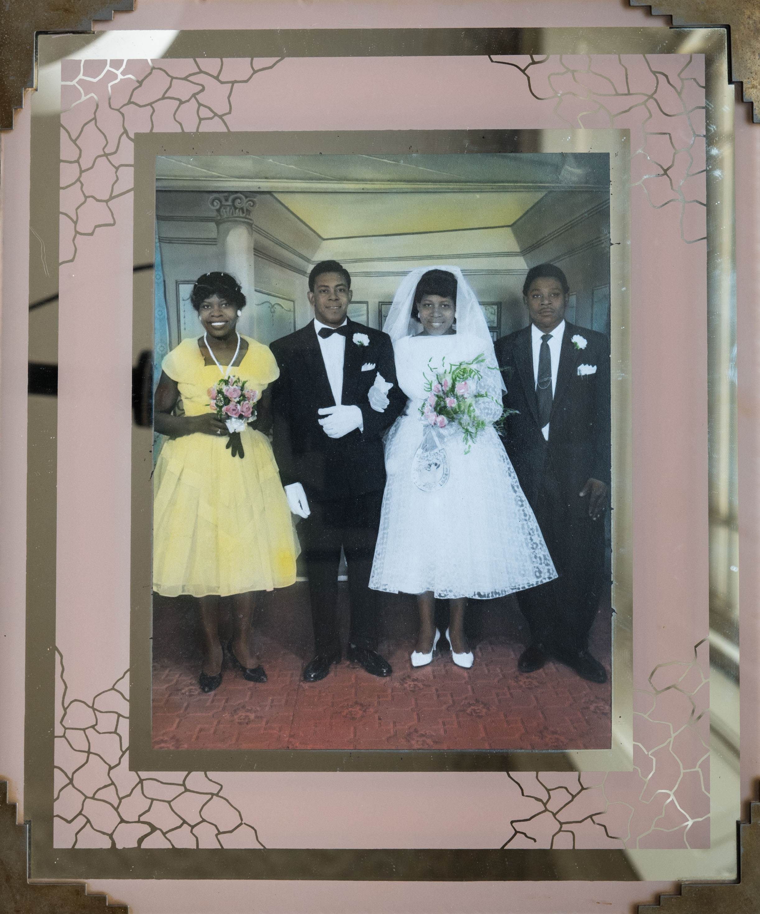 - 'Lester and me married on December 10th 1960 in the Brixton Road registry office'.