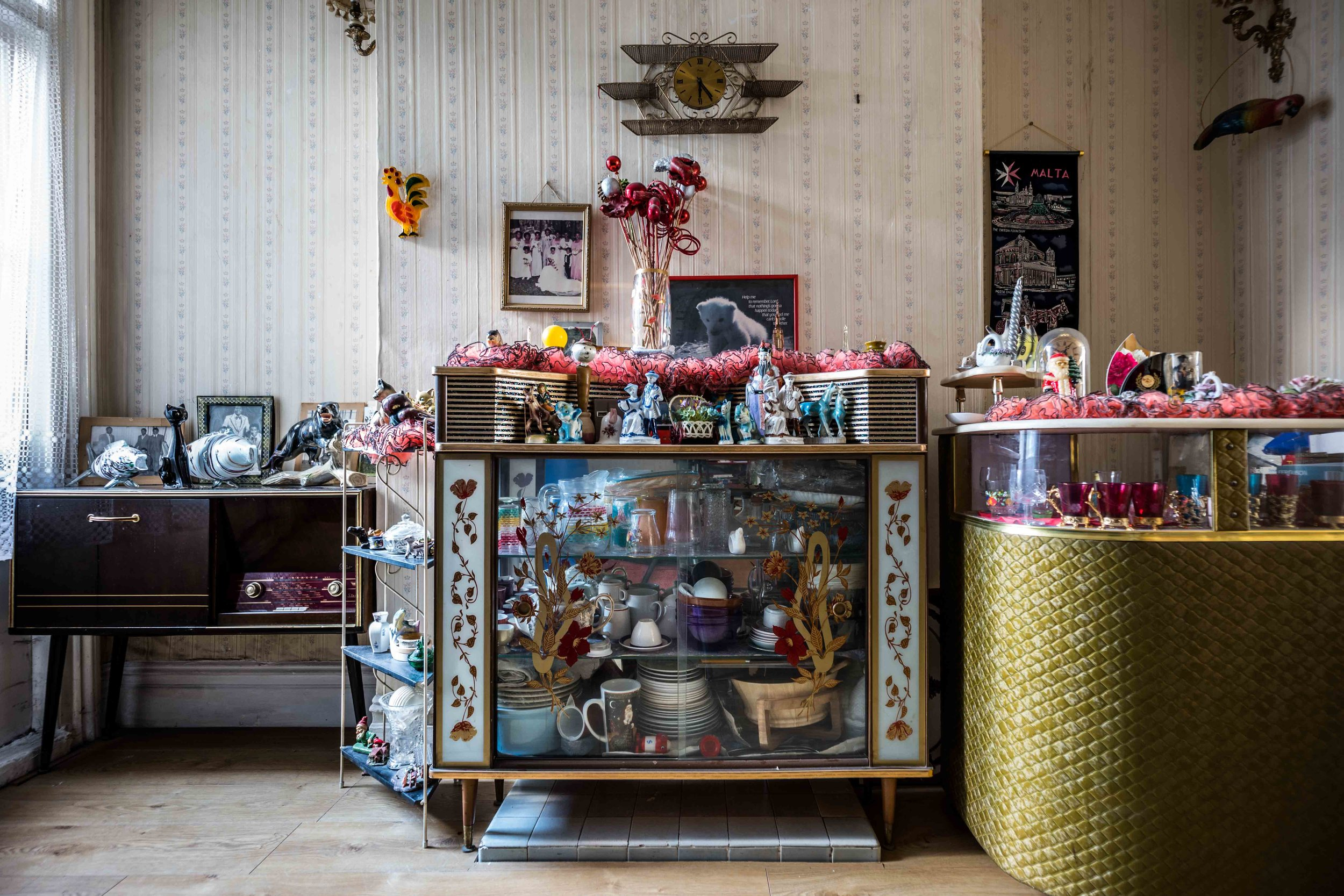 The Jamaican Front Room in a Brixton home. Photo: Jim Grover