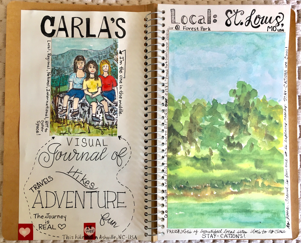 Mixed Media Journaling - Saturday, August 24, 1–4 PM / Instructor: Carla Tuetken