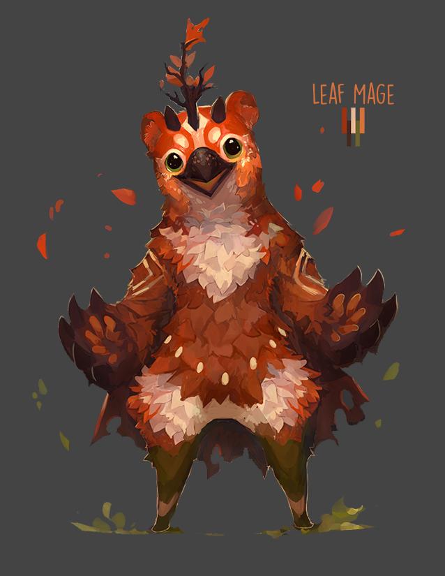 Leaf Mage