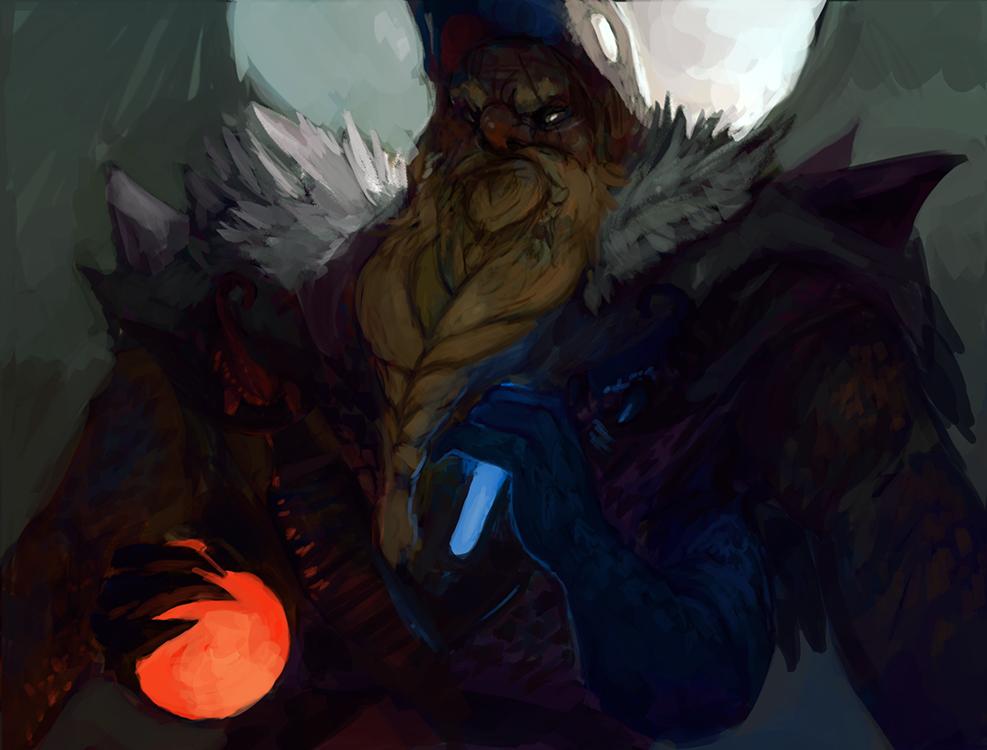 Grumbling Alchemist